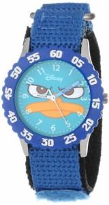 """【当店1年保証】ディズニーDisney Kids' W000157 """"Agent P """"Time Teacher Watch"""