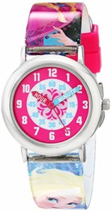 【当店1年保証】ディズニーDisney Kids' FNFKQ039 Frozen Time Teacher Watch