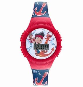 【当店1年保証】ディズニーJake and the Neverland Pirates Kids LCD Watch