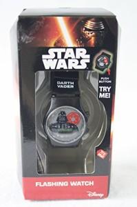 【当店1年保証】ディズニーDisney Star Wars Darth Vader Flashing Watch-Boys