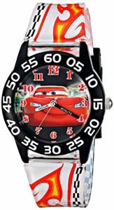 【当店1年保証】ディズニーDisney Kids' W001682 Cars Lightning McQueen Plastic Watch