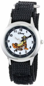 【当店1年保証】ディズニーDisney Kids' W000101 Tigger Stainless Steel Time Teacher Watch