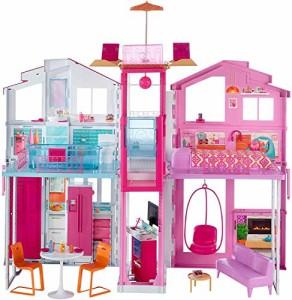 バービーBarbie Pink Passport 3-Story Townhouse
