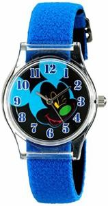 【当店1年保証】ディズニーDisney Kids' W001965 Mickey Mouse Analog Blue Watch