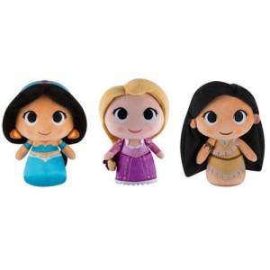 ディズニープリンセスFunko Disney Super Cute Plushies Set of 3 Rapunzel,Pocahontas,Jasmine