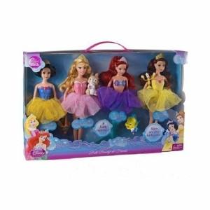 ディズニープリンセスDisney Princess Bath Beauty Gift Set Ariel, Belle, Snow White, Sleeping Beauty