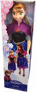 アナと雪の女王New- Disney Frozen My Size Anna Doll