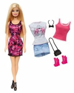 バービーBarbie Doll and Fashion Giftset