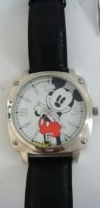 【当店1年保証】ディズニーDisney #MCK992 Men's Mickey Mouse black Strap Analog Watch