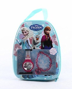 【当店1年保証】ディズニーDisney Frozen LCD Watch with Bracelet Gift Set