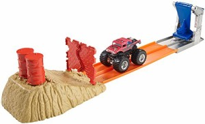 ホットウィールHot Wheels Monster Jam Brick Wall Breakdown