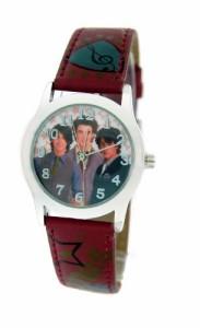 【当店1年保証】ディズニーDisney #41448B Jonas Brothers Leather Strap Watch