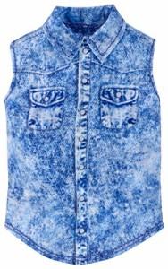 バービーBarbie Fashion Pack, Denim Sleeveless Shirt