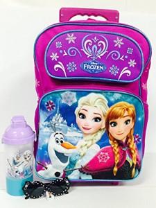 アナと雪の女王Elsa, Anna, Olaf Frozen Large Rolling Backpack Combo Set