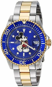 【当店1年保証】インヴィクタInvicta Men's 'Disney Limited Edition' Automatic Stainless Steel Cas