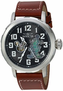【当店1年保証】インヴィクタInvicta Men's 'Disney Limited Edition' Automatic Metal and Leather C