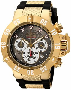 【当店1年保証】インヴィクタInvicta Men's 'Disney Limited Edition' Quartz Gold-Tone and Silicone