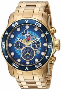 【当店1年保証】インヴィクタInvicta Men's 'Disney Limited Edition' Quartz Gold-Tone and Stainles