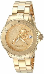 【当店1年保証】インヴィクタInvicta Women's 'Disney Limited Edition' Automatic Gold-Tone and Sta