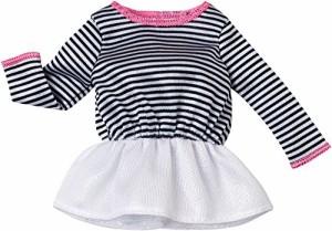 バービーBarbie Fashion Pack, Peplum Stripe Top