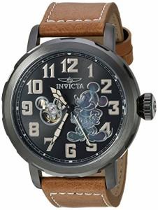 【当店1年保証】インヴィクタInvicta Men's 'Disney Limited Edition' Automatic Metal and Leather C