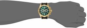 【当店1年保証】インヴィクタInvicta Men's 19661 I-Force Analog Display Swiss Quartz Black Watch