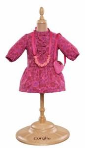"""コロールCorolle Mademoiselle 14"""" Flower Dress and Accessories"""