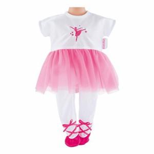 コロールCorolle DMV82 Mon Premier Ballerina Fuchsia Suit Doll, 12 Inches