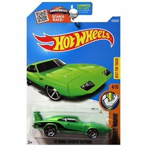 HOT WHEELS SINCE 68 MUSCLE CARS LARGE AND IN CHARGER #9//10 GREEN