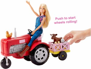 バービーbarbie doll and tractorの通販はwowma ワウマ プラネット