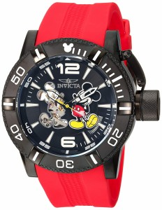 【当店1年保証】インヴィクタInvicta Men's 'Disney Limited Edition' Automatic Metal and Silicone