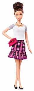 バービーBarbie Fashionistas Doll - Plum Plaid