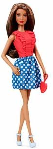 バービーBarbie Fashionistas Doll ? Red Ruffles