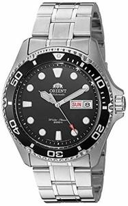 【当店1年保証】オリエントOrient Men's 'Ray II' Japanese Automatic Stainless Steel Diving Watch,