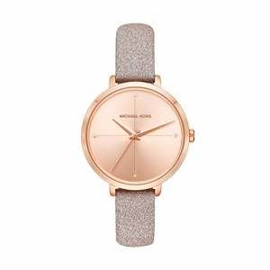 6afa721319b6 【当店1年保証】マイケルコースMichael Kors Women's Charley Rose Gold Leather Watch