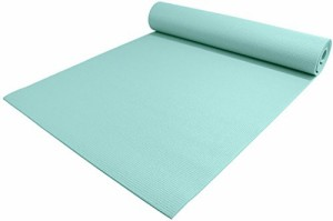 "ヨガマットYogaAccessories 1/4"" Thick High-Density Deluxe Non-Slip Exercise Pilates & Yoga Mat, Soothing S"