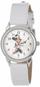 【当店1年保証】ディズニーDisney Women's MCK308 Minnie Mouse Nurse White Strap Watch