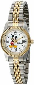【当店1年保証】ディズニーDisney Women's W001993 Mickey Mouse Two-Tone Watch