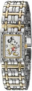 【当店1年保証】ディズニーDisney Mickey Mouse Women's W002511 Mickey Mouse Two-Tone Watch