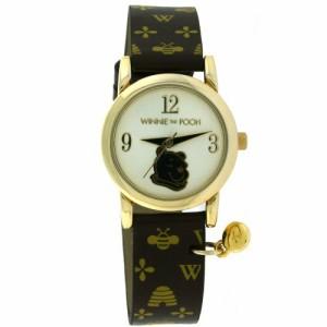 【当店1年保証】ディズニーWinnie the Pooh Designer Strap Watch by Disney MU3008