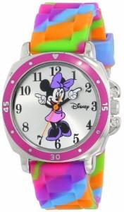 【当店1年保証】ディズニーDisney Kids' MN1104 Watch with Tie Dye Rubber Band