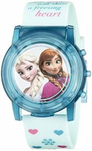 【当店1年保証】ディズニーDisney Kids' FZN3821SR Digital Display Analog Quartz Blue Watch