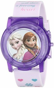 【当店1年保証】ディズニーDisney Kids' FZN6000SR Digital Display Analog Quartz Pink Watch