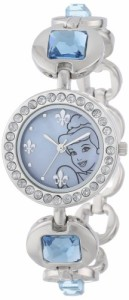 【当店1年保証】ディズニーDisney Kids' PN2000 Cinderella Rhinestone-Accented Watch