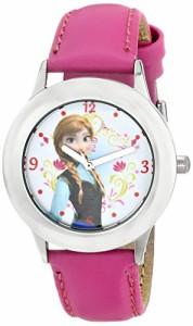 【当店1年保証】ディズニーDisney Kids' W000974 Frozen Tween Anna Stainless Steel Watch