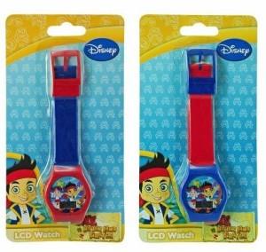 【当店1年保証】ディズニーJake & The Neverland Digital Watch x 1 (1 only assorted style)