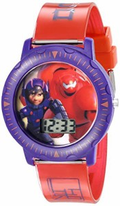 【当店1年保証】ディズニーDisney Kids' BHS3381 Big Hero 6 Watch with Red Band