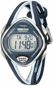 【当店1年保証】タイメックスTimex Women's T5K038 Ironman Sleek 50-Lap Navy Resin Strap Watch
