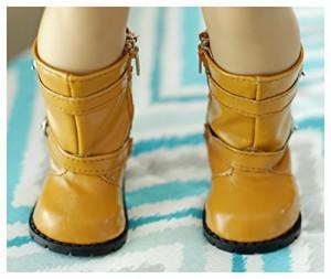アメリカンガールドール18 Inch doll Boots, Boots size fits American Girls Doll, Autumn Winter Vegan