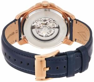【当店1年保証】フォッシルFossil Men's ME3102 Analog Display Automatic Self Wind Blue Watch